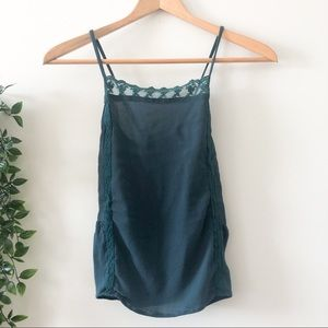 ⭐️3/$25 Garage Green Tank Top